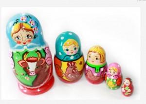 ロシア人女性の増加